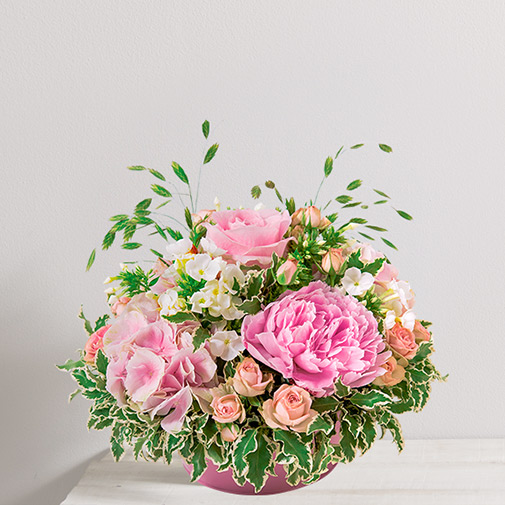 Composition florale Nuage de tendresse