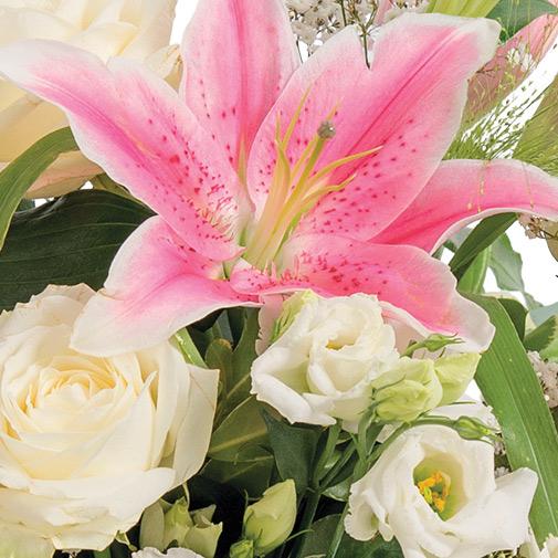 Bouquet de fleurs Pur délice