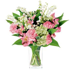 Bouquet de fleurs Clochette Remerciements