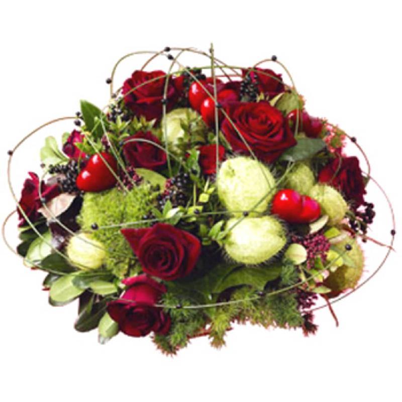 Bouquet de fleurs Flower arrangement<b