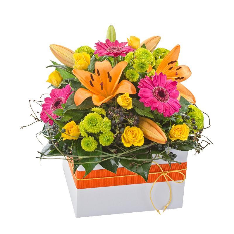 Bouquet de fleurs Fiesta