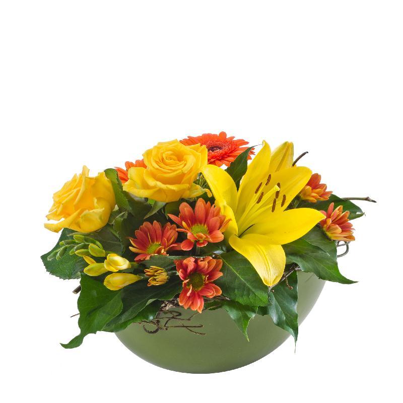 Bouquet de fleurs Citrus