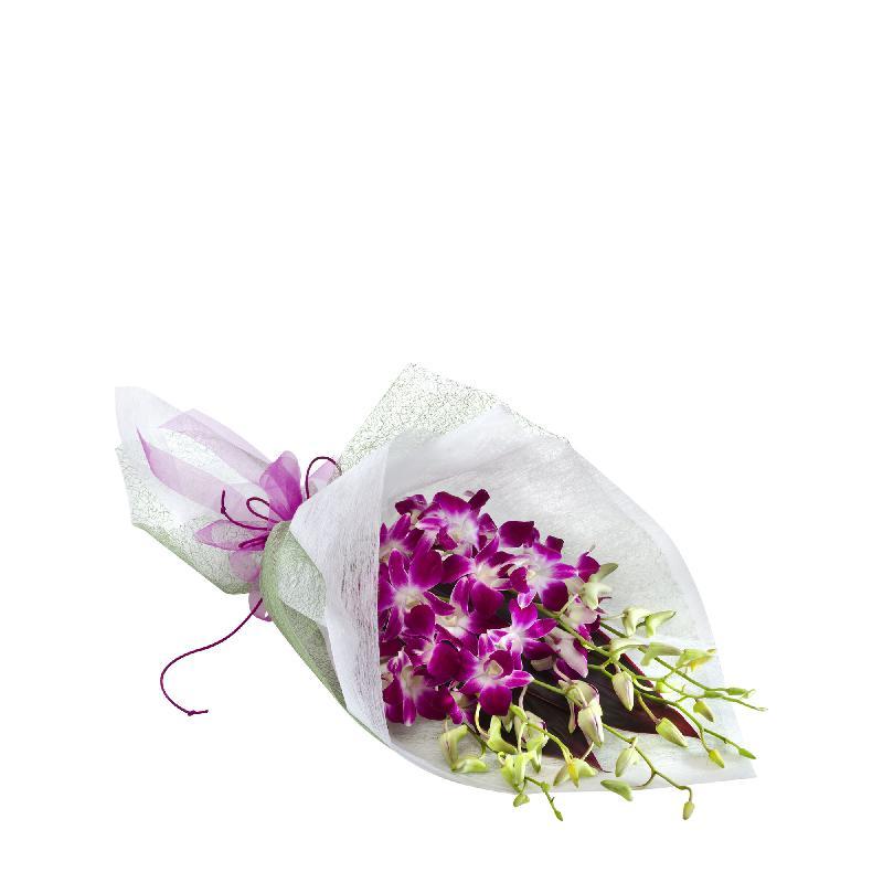 Bouquet de fleurs Amethyst