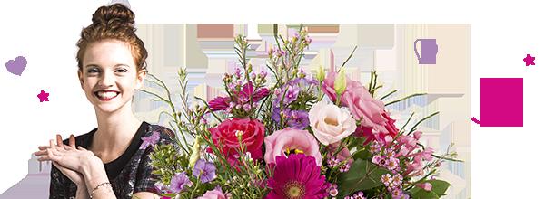 Fleurs Anniversaire Livraison Bouquet D Anniversaire Interflora