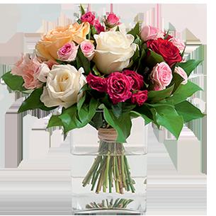 Bouquet de roses Bouquet de grandes roses Pâques