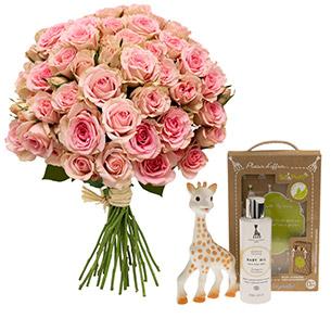 Bebe douceur <br>Sophie la girafe® - interflora