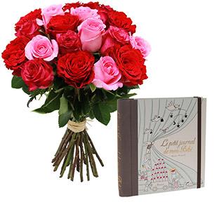Fleurs et cadeaux Mes premiers mois… Marabout Naissance maman