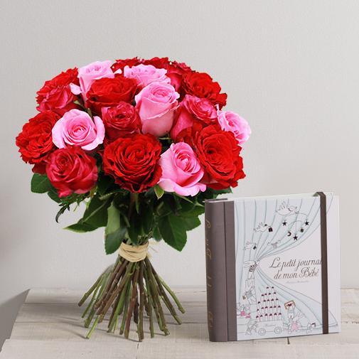 Brass e de roses et son journal de b b marabout for Fleuriste livreur