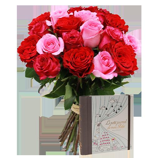 Fleurs et cadeaux Mes premiers mois… Marabout