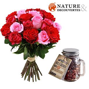 Roses et sa pate a tartiner Nature et Decouvertes - interflora