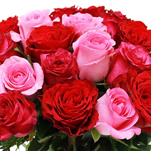 Fleurs et cadeaux Brassée de roses