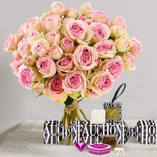 Fleurs et cadeaux Amour craquant