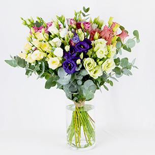 Bouquet de fleurs Bouquet de lisianthus Anniversaire