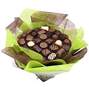 Fleurs et cadeaux Bouquet de chocolats Fête des grands-pères