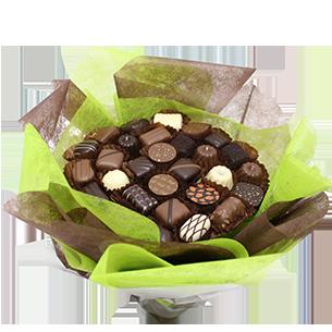Fleurs et cadeaux Bouquet de chocolats Nouvel An