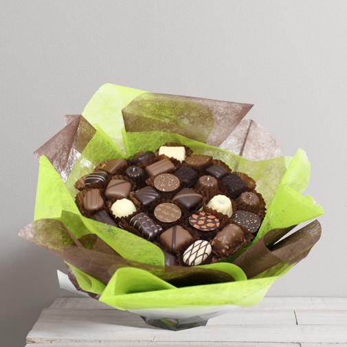 Cadeau original bouquet en chocolat interflora for Fleuriste livreur
