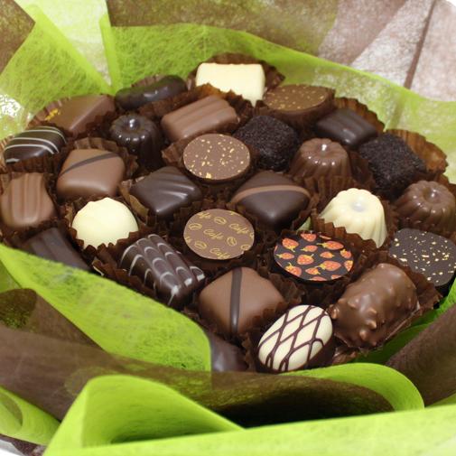 Fleurs et cadeaux Bouquet de chocolats