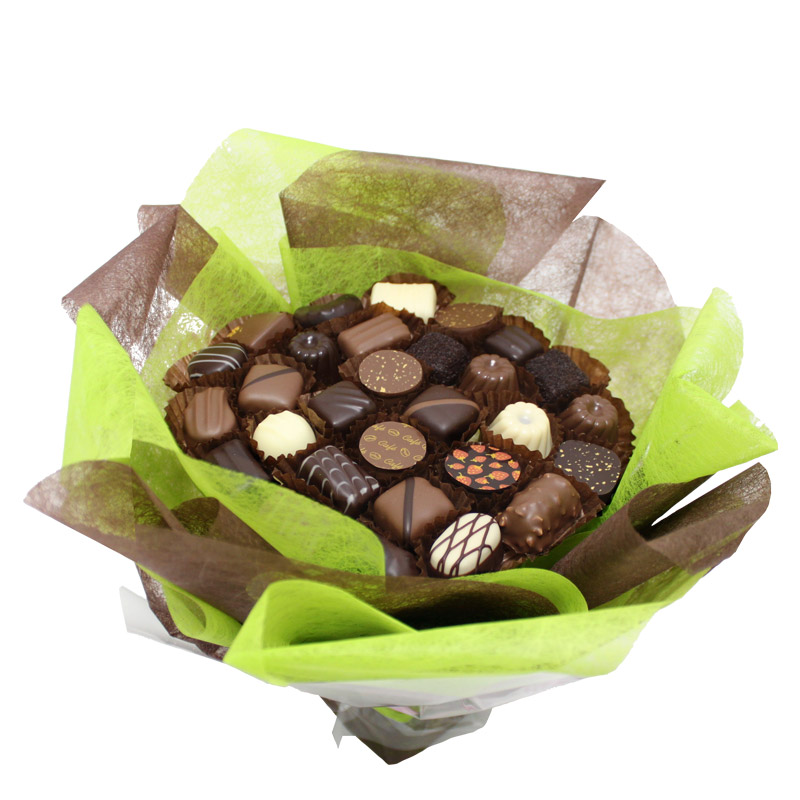 cadeau original bouquet en chocolat interflora. Black Bedroom Furniture Sets. Home Design Ideas
