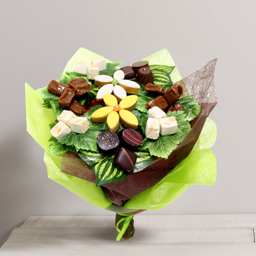 Id e cadeau bouquet en chocolat interflora for Fleuriste livreur