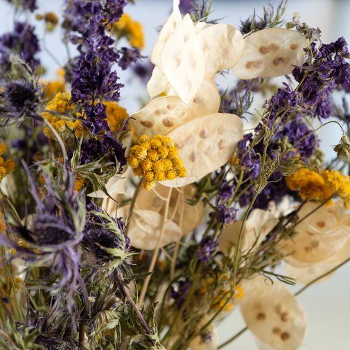 Bouquet de fleurs Tendre Nature et son vase