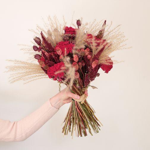 Bouquet de fleurs Béguin Folk