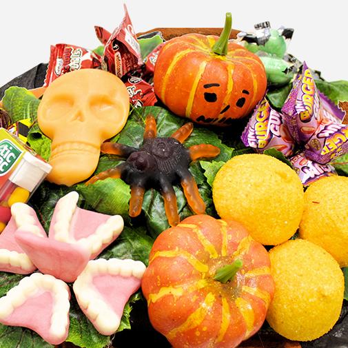 Halloween gourmand livraison par colis fleurs l for Fleuriste livreur