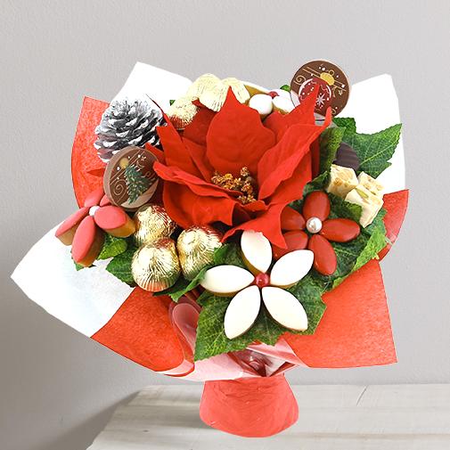Fleurs et cadeaux Noël Gourmand