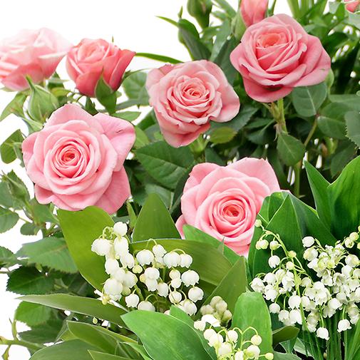 Muguet plantes vertes et fleuries de saison 1er mai for Muguet livraison domicile