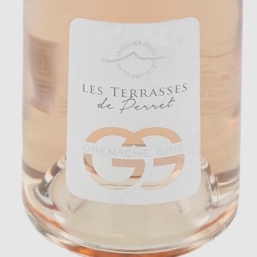 """Bouquet de fleurs Apéritif FAUCHON & son vin rosé """"Les terrasses de Perret"""""""
