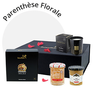 Fleurs et cadeaux Coffret Parenthèse Florale Collection Retraite