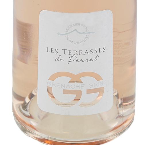 """Fleurs et cadeaux Rosé """"Les Terrasses du Perret"""" et son écrin de chocolats"""