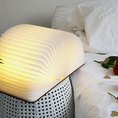 null Lampe livre lumineux personnalisable - Mamie fleurie