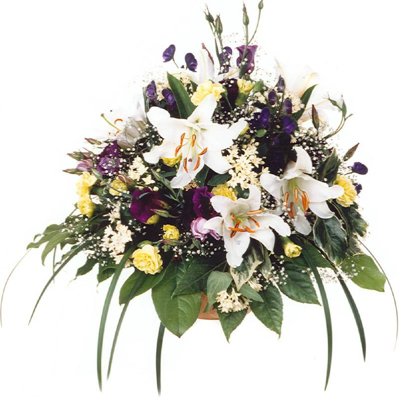 Bouquet de fleurs In Silent Remembrance (For the Cemetery)