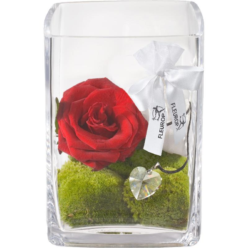 For my Love, with Swarovski® crystal heart