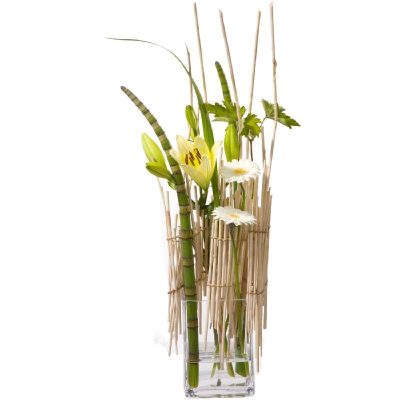 Bouquet de fleurs Stylish (including vase)