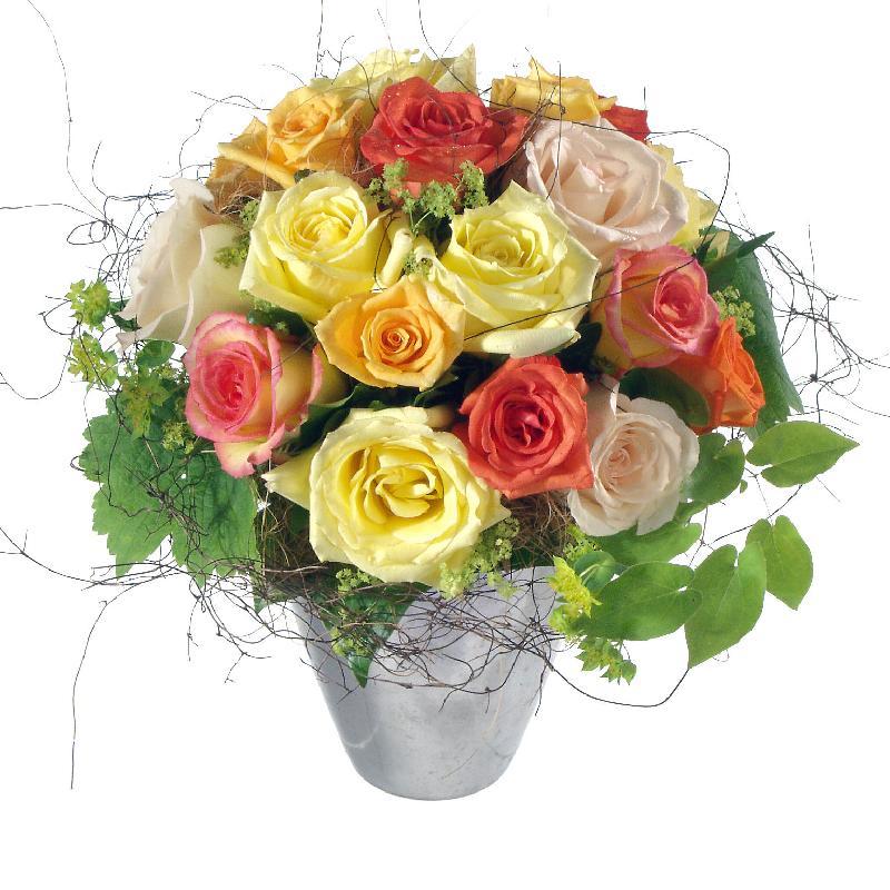 Bouquet de fleurs Cordial Rose Greeting
