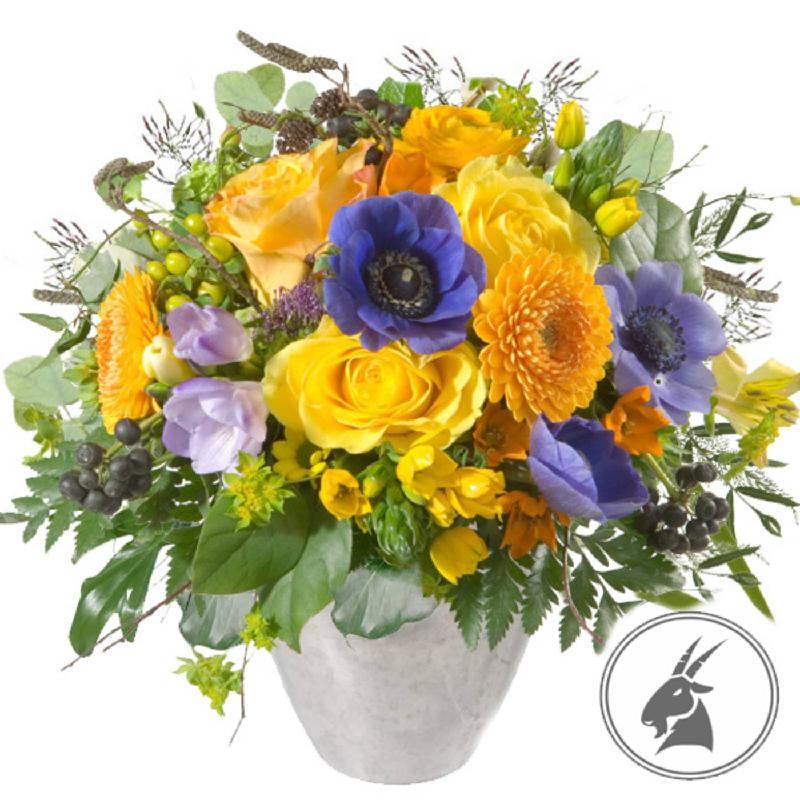 Bouquet de fleurs Bouquet Capricorn (22.12. - 20.01.)