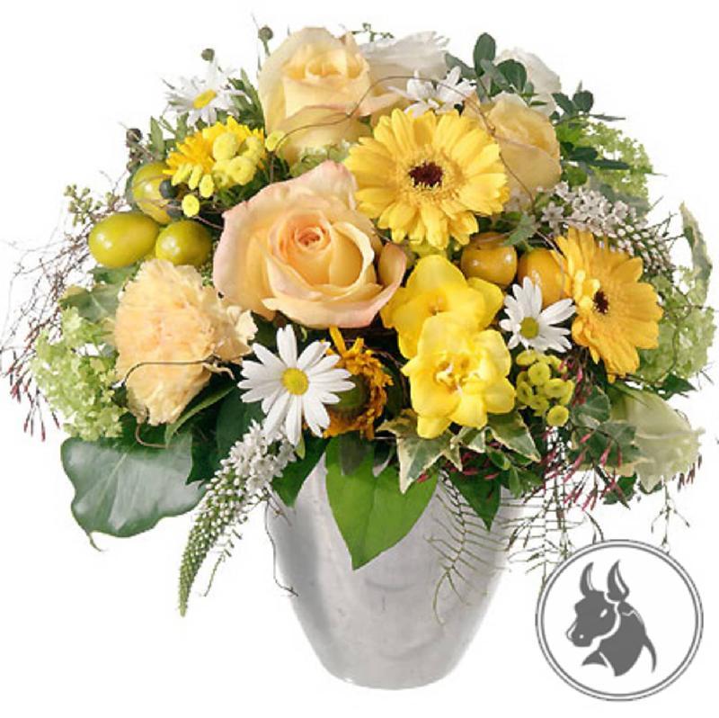 Bouquet de fleurs Bouquet Taurus (21.04. - 20.05.)