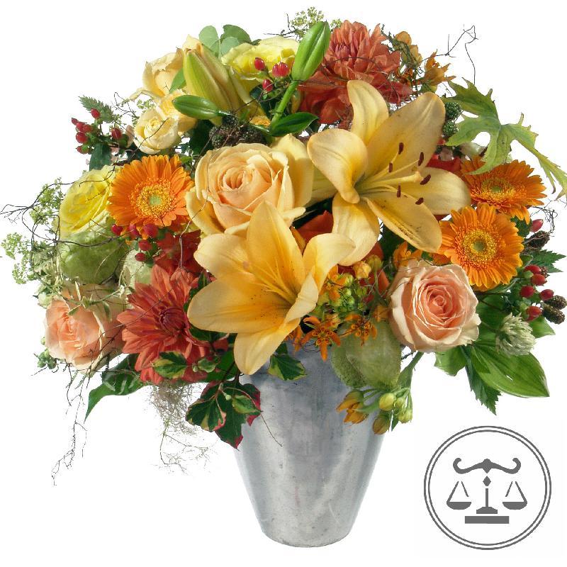 Bouquet de fleurs Bouquet Libra (24.09. - 23.10.)