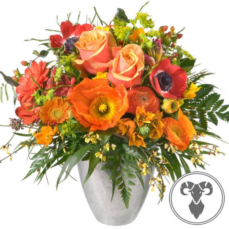 Bouquet de fleurs Bouquet Aries (21.03. - 20.04.)