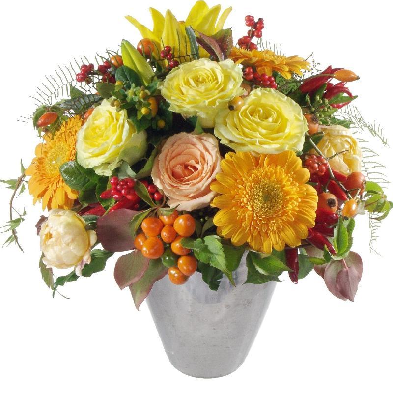 Bouquet de fleurs Winter Sun