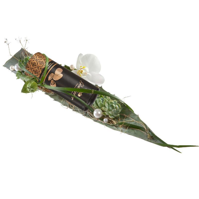 Bouquet de fleurs Exquisite Surprise with Gottlieber cocoa almonds