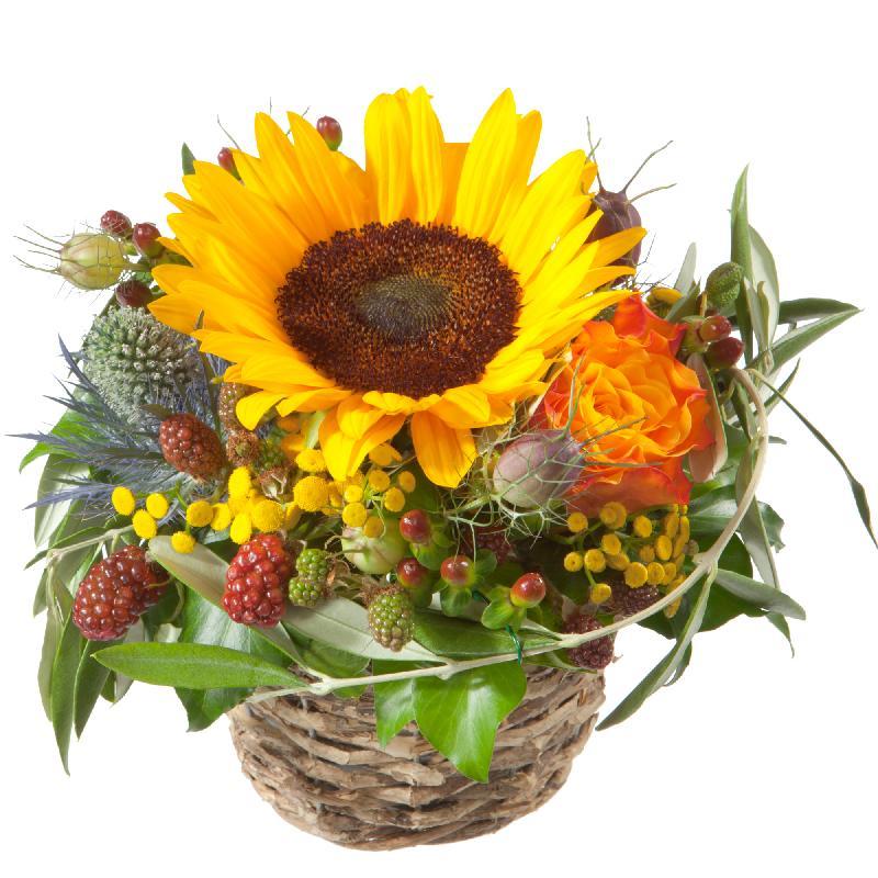 Bouquet de fleurs Sunny kiss