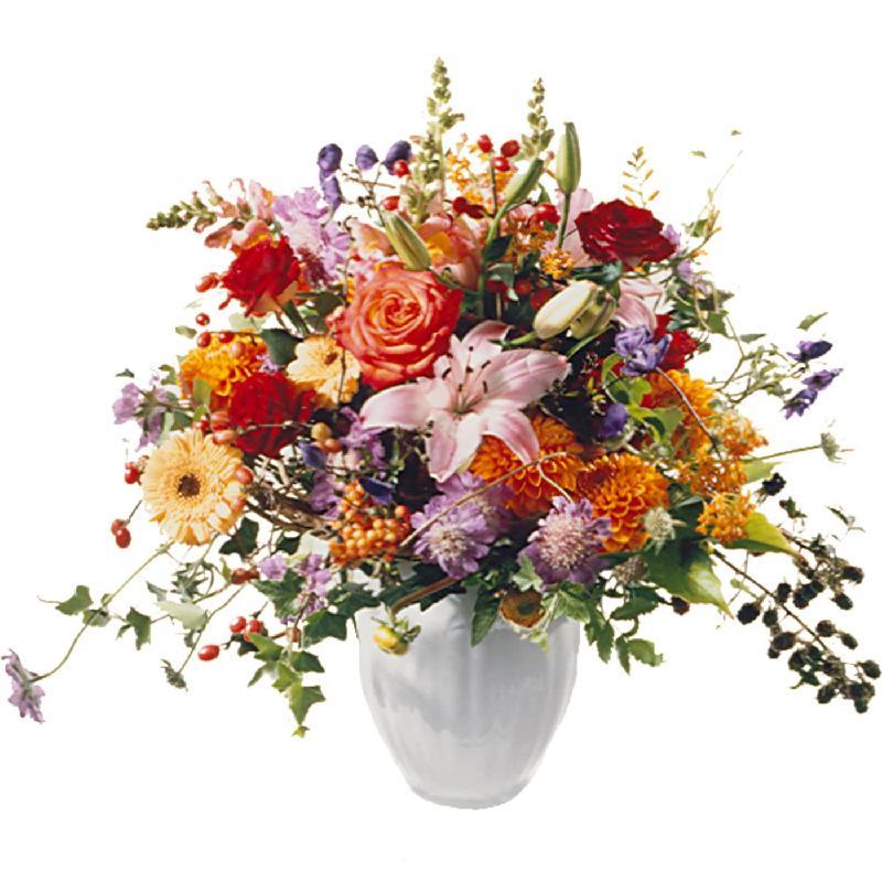 Bouquet de fleurs Queen of Indian Summer