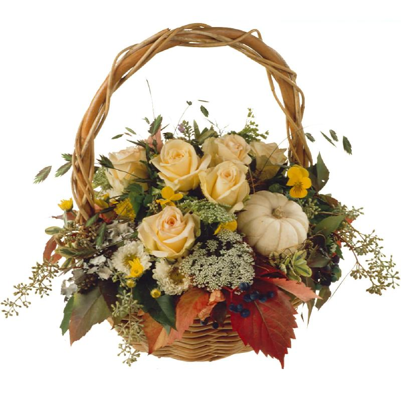 Bouquet de fleurs Charming Fall Basket