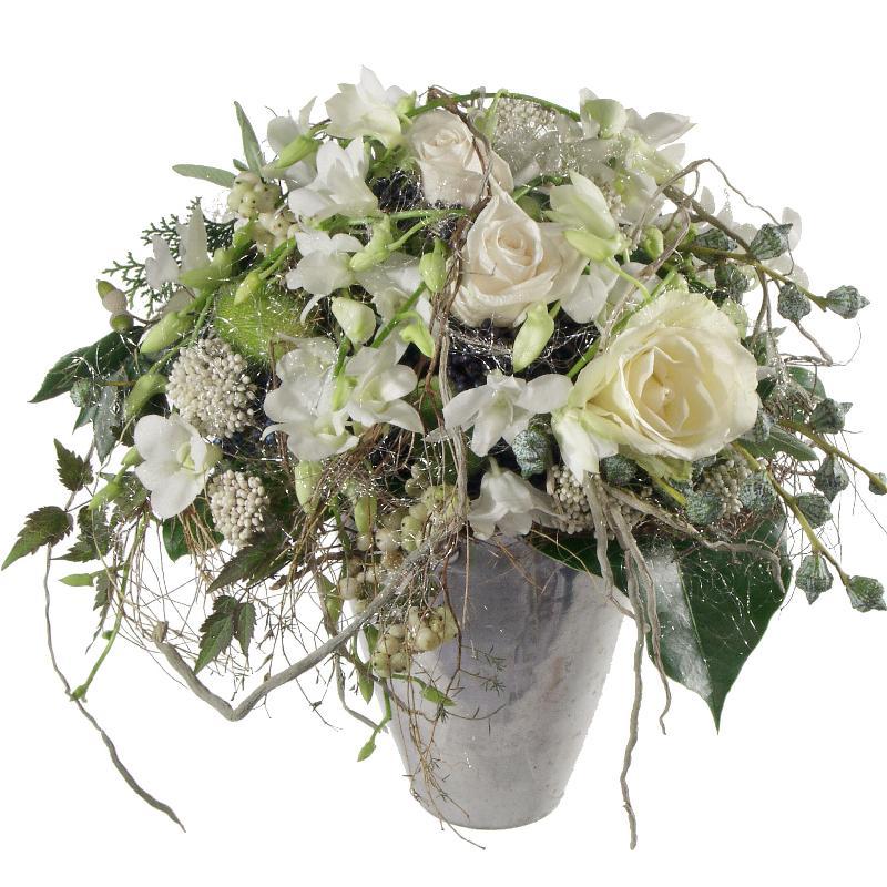 Bouquet de fleurs Snowqueen