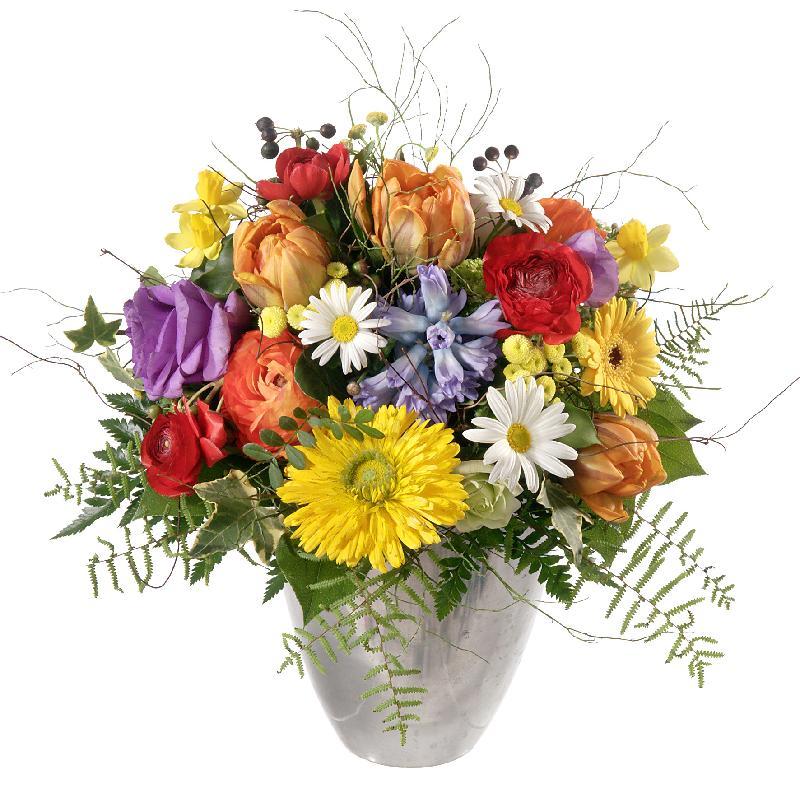 Bouquet de fleurs Happy