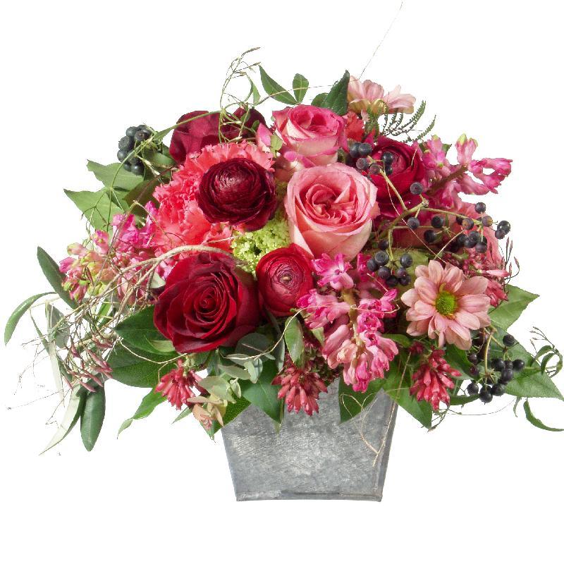 Bouquet de fleurs Poetry with Roses