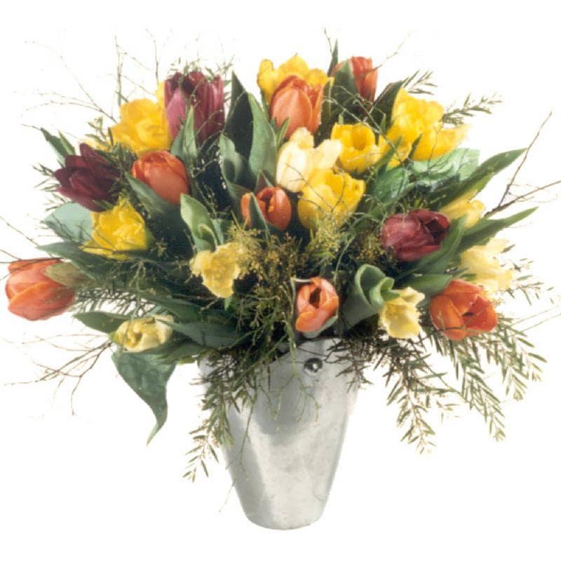 Bouquet de fleurs Colorful Bouquet of Tulips