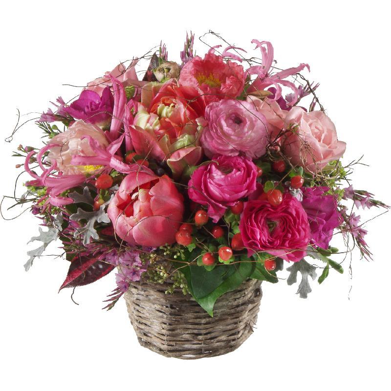 Bouquet de fleurs Heartbeat